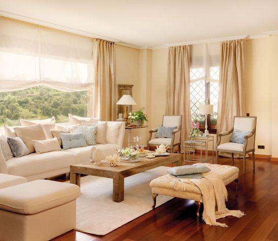 Combinaciones de color para salones pinturas lepanto - Colores grises para salones ...