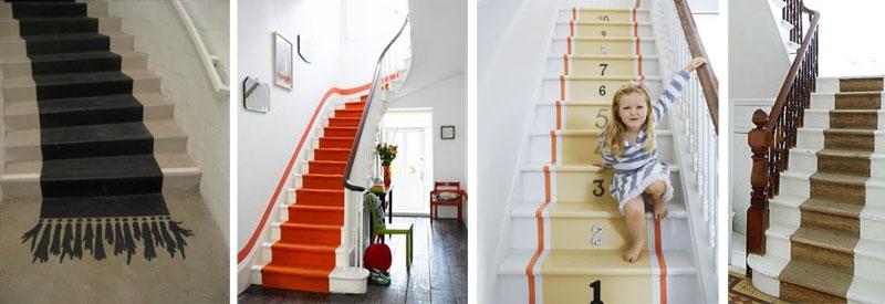 Ideas para pintar la escalera pinturas lepanto - Escaleras para pintar ...
