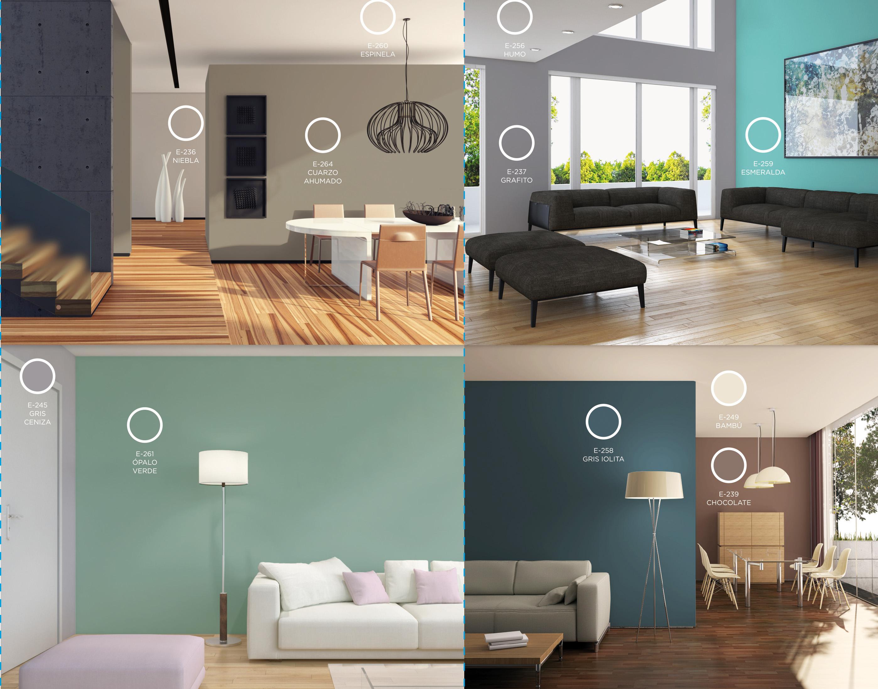 Paleta de colores grises para paredes finest azul for Paleta de colores grises
