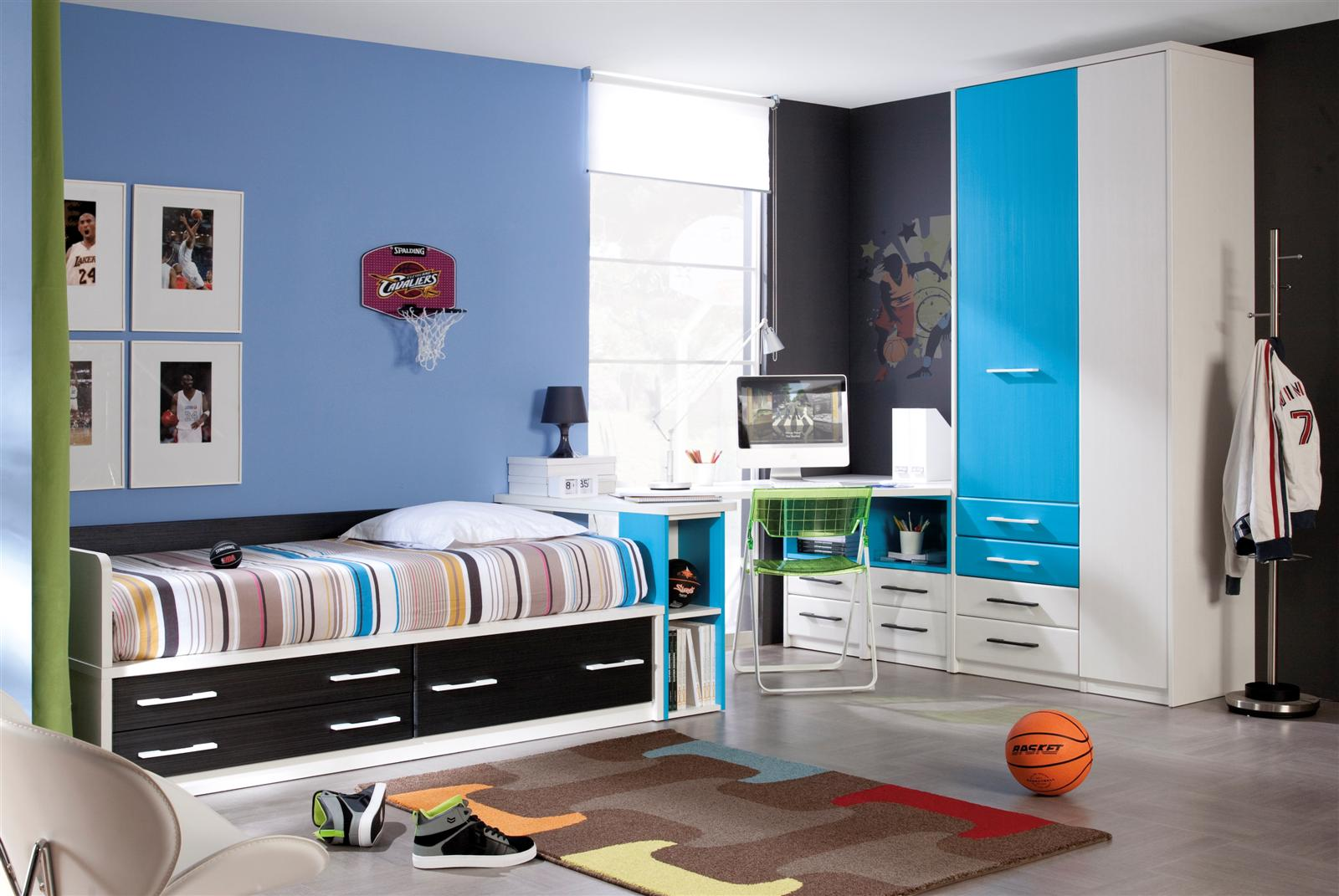 De qu color pinto mi zona de estudio pinturas - Pintura habitaciones ninos ...