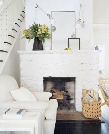 Decorar la chimenea del sal n pinturas lepanto - Fabricantes de chimeneas ...