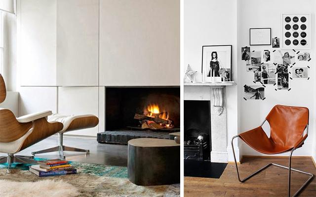Decorar la chimenea del sal n pinturas lepanto - Como decorar un salon con chimenea ...