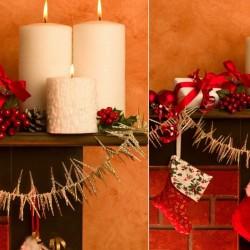 C mo decorar tu chimenea esta navidad pinturas lepanto - Como decorar una chimenea ...