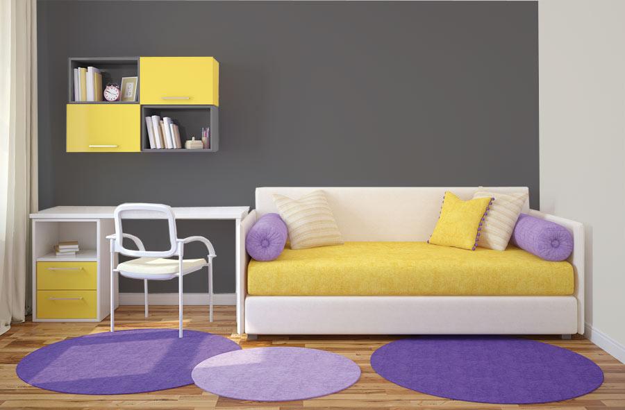 Ideas para dormitorios juveniles pinturas lepanto - Pinturas para habitaciones juveniles ...