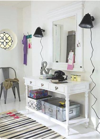 Decora la entrada o recibidor de tu casa pinturas - Pintar un recibidor ...