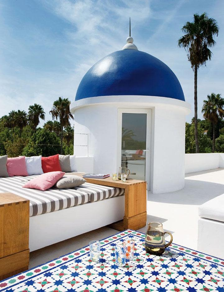 Los colores de tu jard n o terraza pinturas lepanto for Mobiliario marroqui