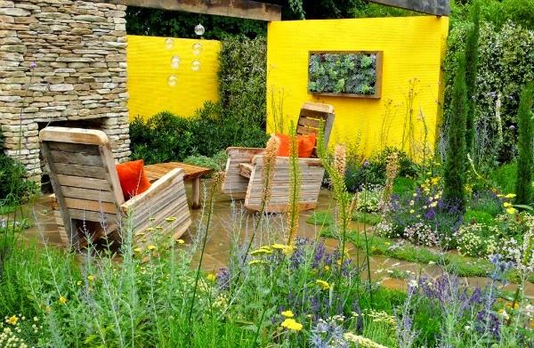 Los colores de tu jard n o terraza pinturas lepanto for Jardines en paredes exteriores
