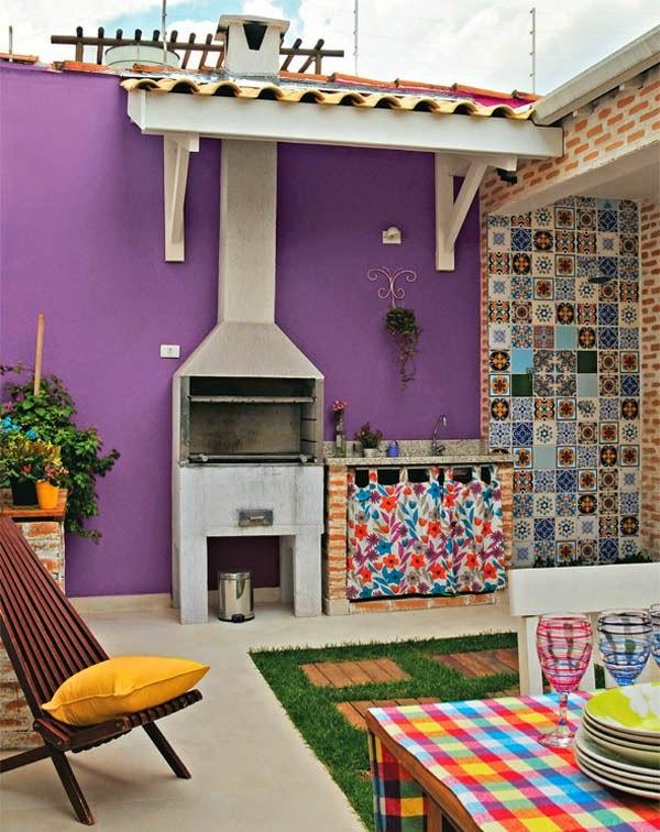 Los colores de tu jard n o terraza pinturas lepanto for Paredes de patios decoradas