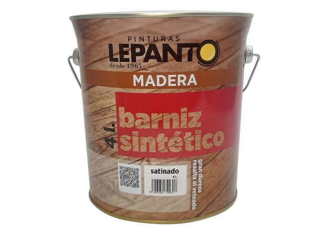 Barniz sint tico satinado pinturas lepanto fabricante - Barniz madera exterior ...
