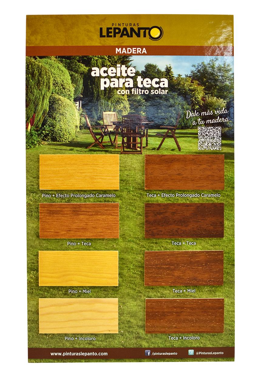 Aceite de teca pinturas lepanto fabricante de pintura - Aceite de teca para madera ...