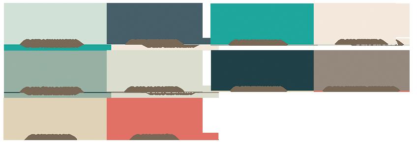 Ecotendencias 1 edici n pinturas lepanto fabricante for Pintura verde aguamarina