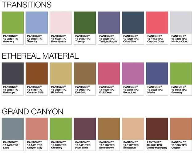 2017 se ti e de greenery pinturas lepanto fabricante - Paleta de colores neutros ...