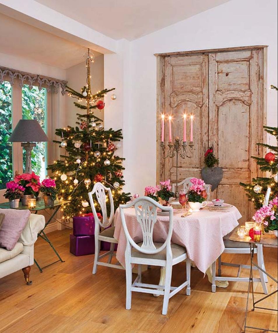 Baños Decorados Navidenos:Rbol De Navidad Manualidades De Decoraci N Para La Navidad